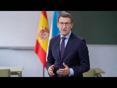 Mensaje de Fin de Año del presidente de la Xunta, Alberto Núñez Feijóo