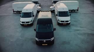 Den nye Crafter. Mere elegant. Mere letkørt. 100% Volkswagen.