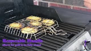 The Purple Cricket's Grill Basket