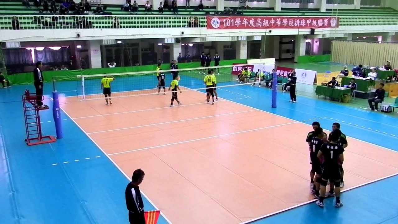 130108 HVL複賽 華僑高中vs福誠高中 - YouTube