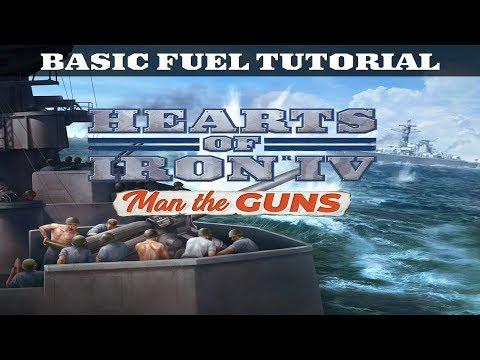BASIC FUEL TUTORIAL - HOI4: Man the Guns Guide - YouTube