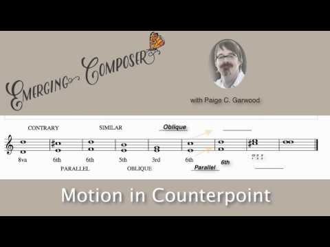 EC Lesson 3 Motion in Counterpoint