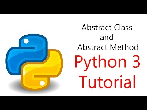 20: Abstract Class and Abstract Method
