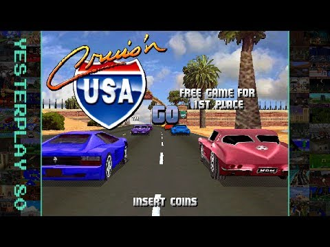 #YesterPlay: Cruis'n USA (Arcade, Midway, 1994) - Cruise the USA