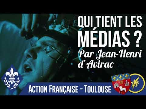 Qui tient les médias ? Jean-Henri d'Avirac