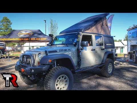 Jeep Wrangler America Safari JXL Review