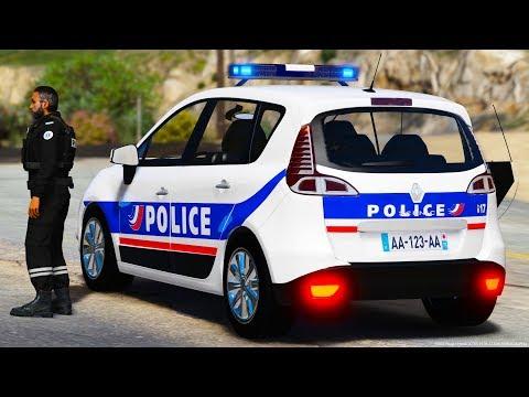 [GTA-LSPDFR] Renault Scenic 3 | Police Nationale #51
