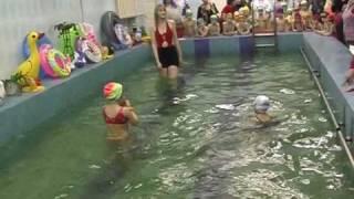 Детские соревнования по плаванию