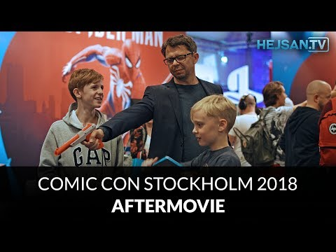 Comic Con Stockholm 2018 - Aftermovie [4K]