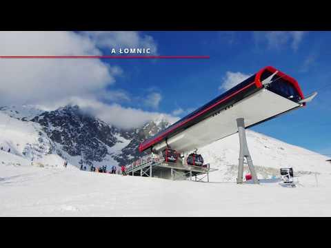 Tatrzańska Łomnica - warunki narciarskie 9.01.2018