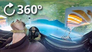 360º Stunt Plane - Loop The Loops above Strandhill - Slow Motion 4K thumbnail