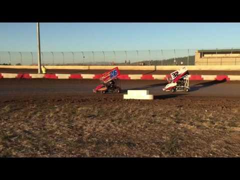 Willamette Speedway 125cc Outlaw Kart Race Main 7/29/16