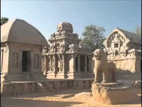South Indian architecture: Pallavas and Vatapi Chalukyas (History of India up to c. A.D. 1200)