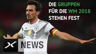 WM 2018: DFB gegen Mexiko, Schweden und Südkorea | WM 2018 Russland | SPOX