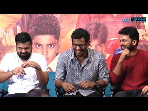 Simbu, Vishal United  - Funny Moment On Stage | STR | Actor Karthi
