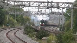 60163 'Tornado' at Wolverton on The Cathedrals Express (10/09/11) Thumbnail