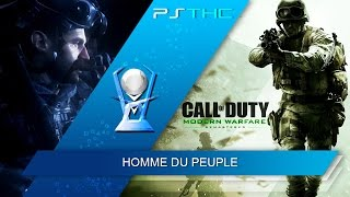 Call of Duty : Modern Warfare Remastered - Man of the People Trophy Guide | Trophée Homme du peuple