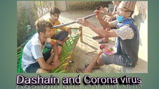 Dashain and Corona virus!! Funny video