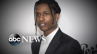 A$AP Rocky appears in Sweden court l ABC News
