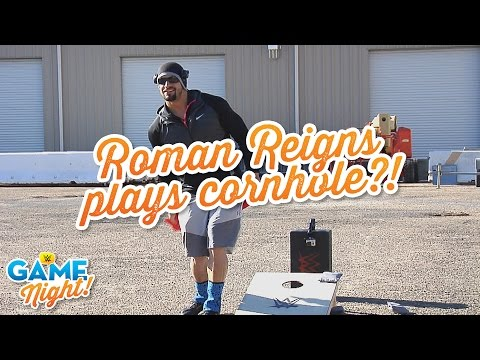 WWE Superstars play cornhole: WWE Game Night