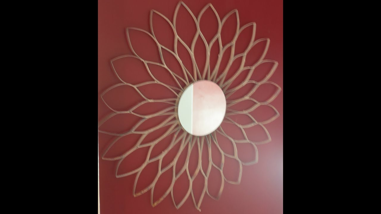 Sunflower Wall Art diy cereal box sunflower wall art!! - youtube