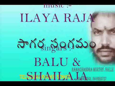 Vedam anuvanuvuna natham ( sagara sangamam ) karaoke with lyrics