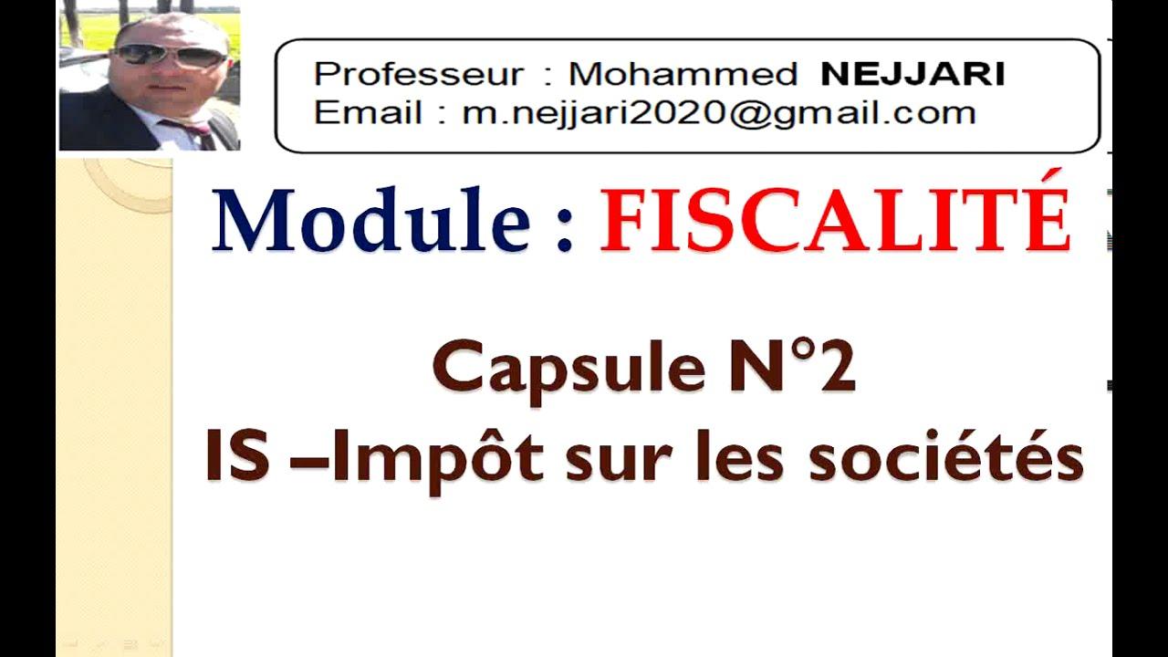 Download Fiscalité - IS : Champs d'application (personnes imposables)