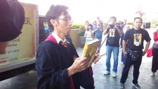 Video First Unboxing of Harry Potter & The Cursed Child book by Indo Harry Potter Community download MP3, 3GP, MP4, WEBM, AVI, FLV November 2018