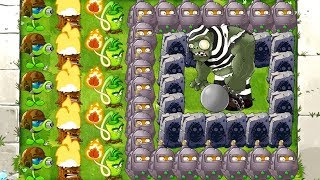Gargantuar in Prison Plants vs Zombies 2 Gameplay 0 Sun Mod - Peashooters and Torchwood