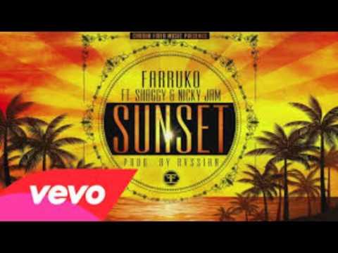 Farruko - Sunset (Cover Audio) ft. Shaggy, Nicky Jam music