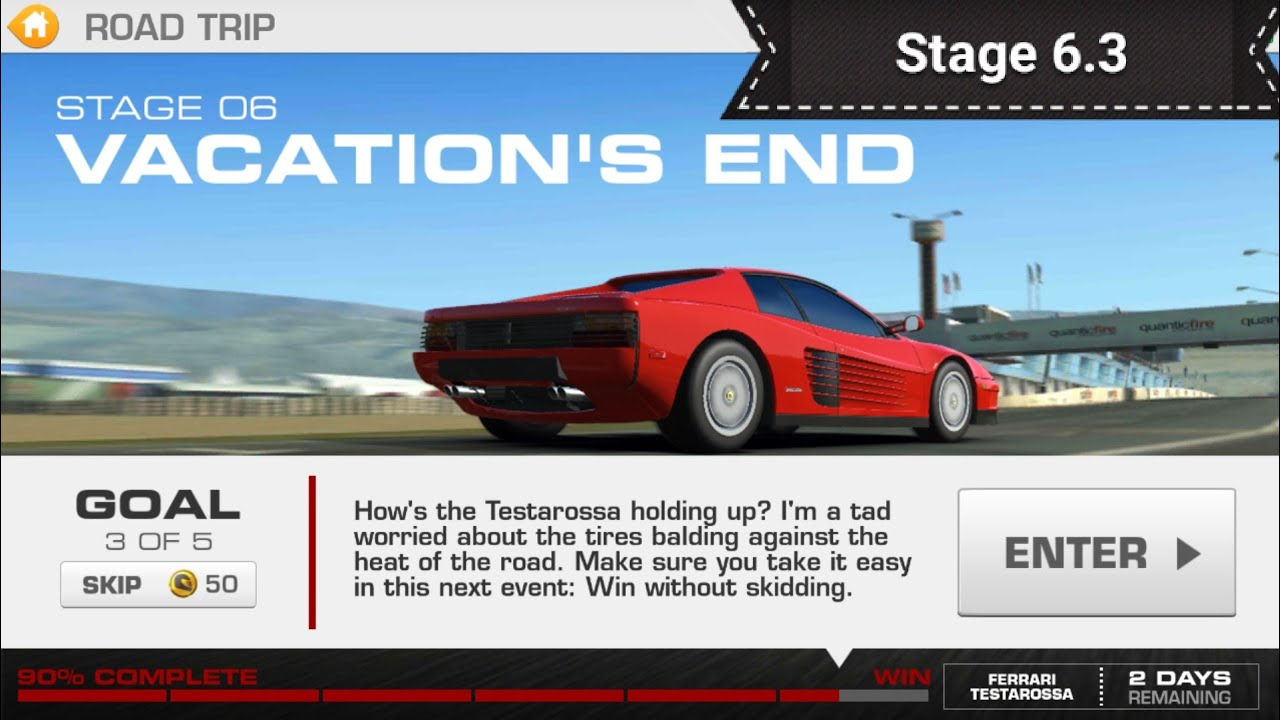 Video - Road Trip Event Stage 6 3 @ 3353313 | Real Racing 3 Wiki