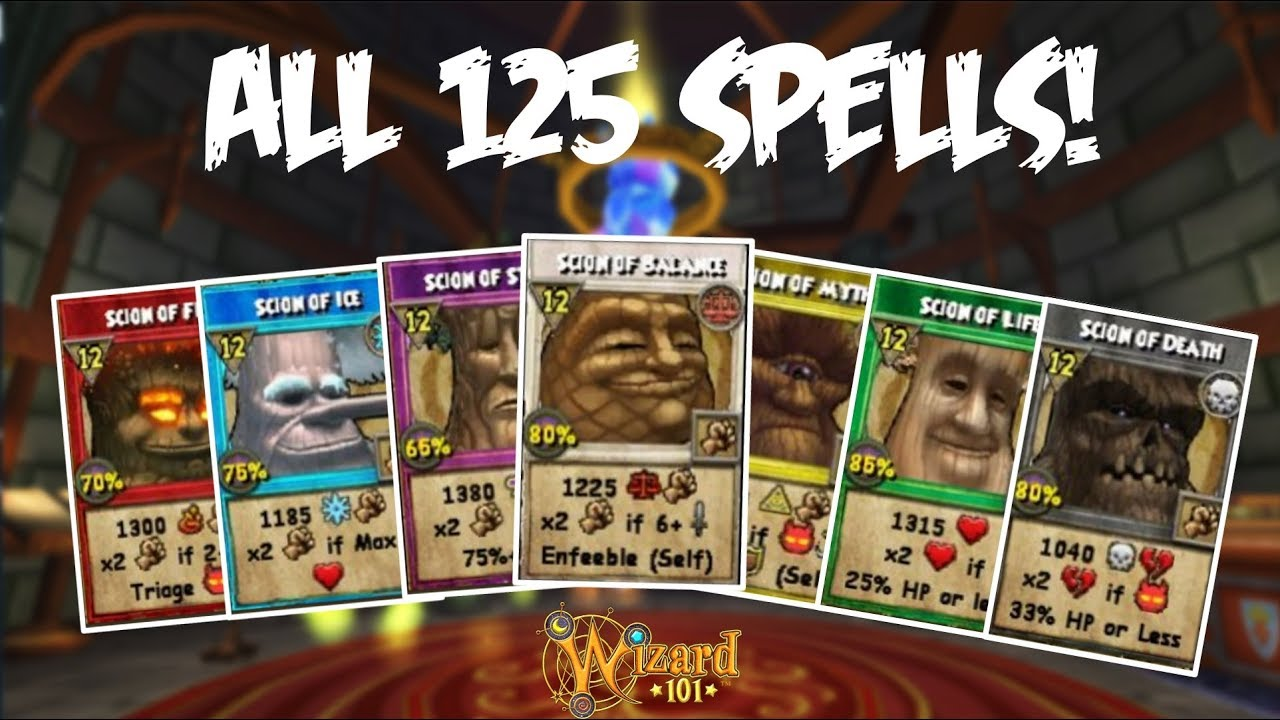 Wizard101: *NEW* RANK 12 ICE SPELL: SCION OF ICE by FMSorcerer