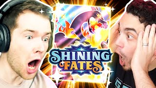 DANTDM pulled 5 SHINY POKEMON CARDS! Absolutely INSANE!