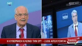 Ο Απόστολος Κακλαμάνης στην ΕΡΤ - 11/06/2013