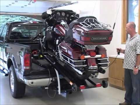 motorcycle lift and loader
