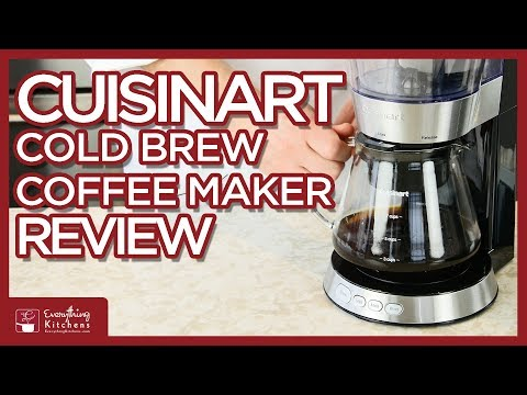 Cuisinart Cold Brew Coffee Maker Review By Chef Austin