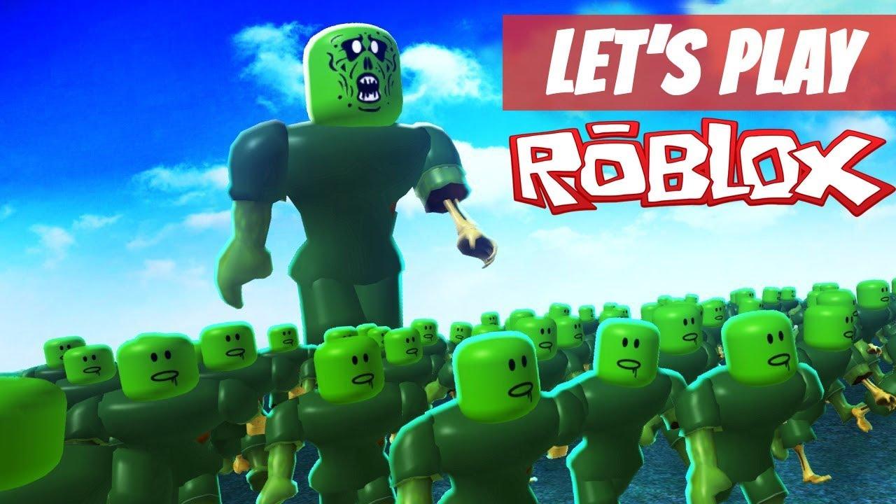 Roblox Zombie Attack Kids Zombie Attack Apocalypse Let S Play Roblox Zombie Attack Youtube