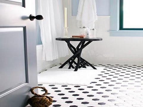Small Black and White Bathroom Tiles Ideas