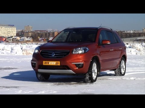 Renault Koleos. Тест-драйв