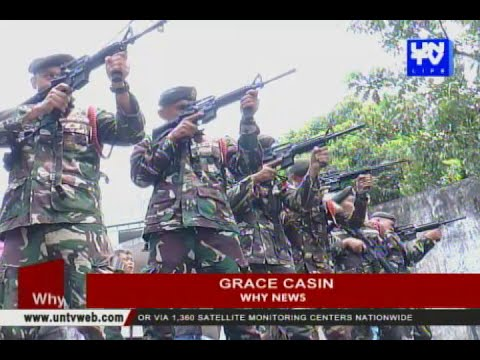 Philippine Army conducts test-firing of improved M4 rifles
