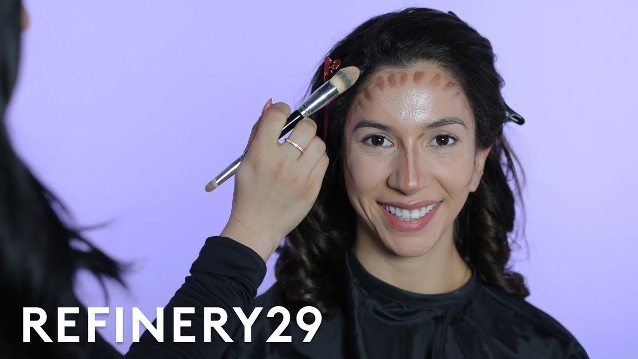 I Got Transformed Into Kourtney Kardashian | Beauty Evolution | Refinery29