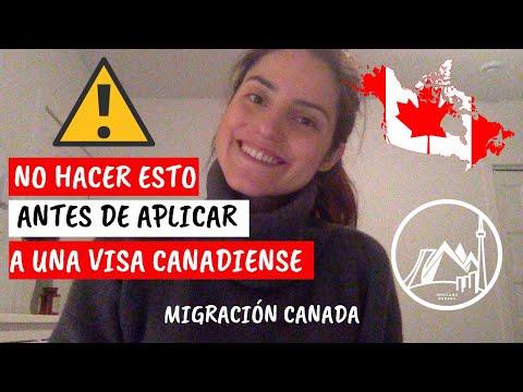 Que No Hacer Antes De Aplicar A Una Visa Canadiense.