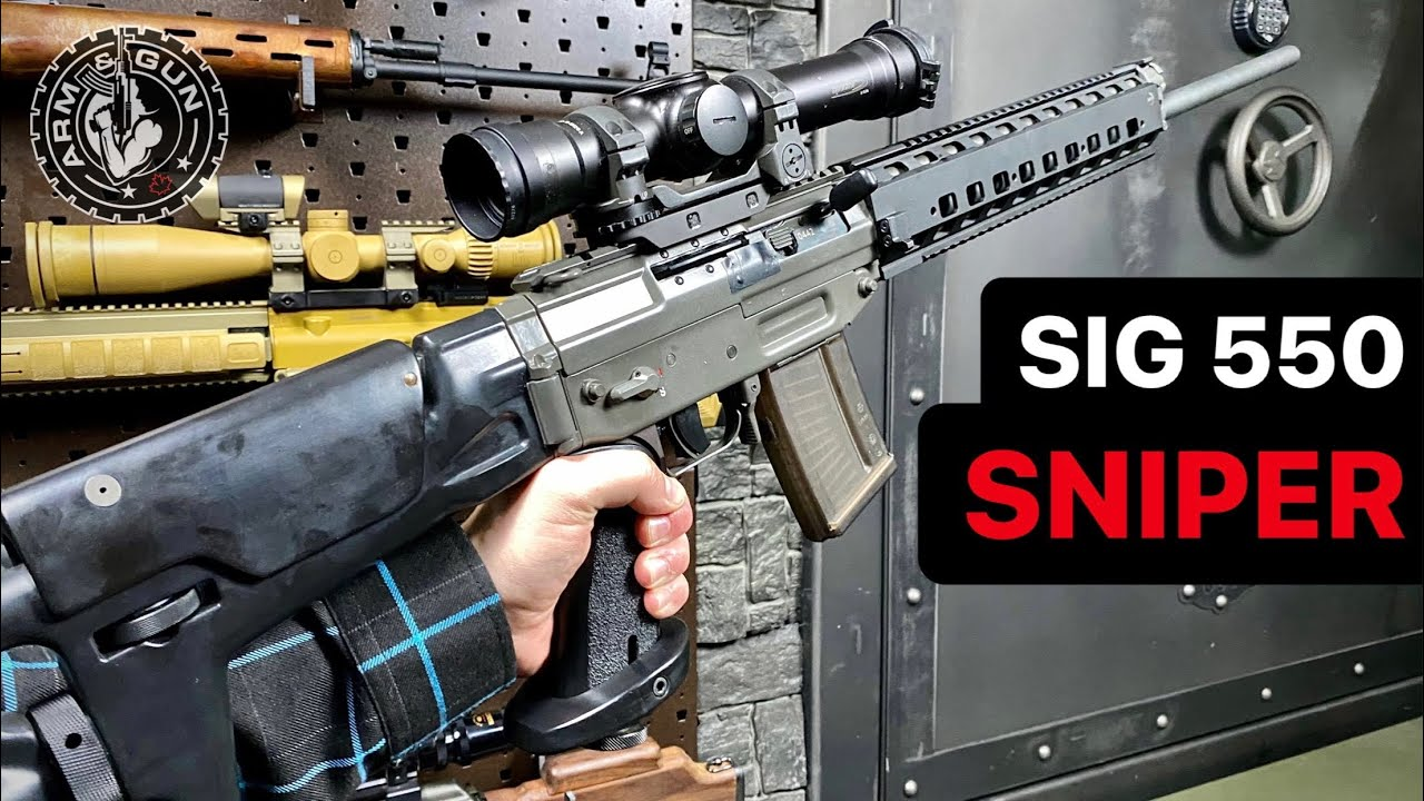 SIG 550 Sniper in 1 Minute #Shorts