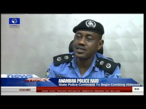 Anambra CP Declares 'Operation Raid' On Criminal Hideouts -- 16/08/15