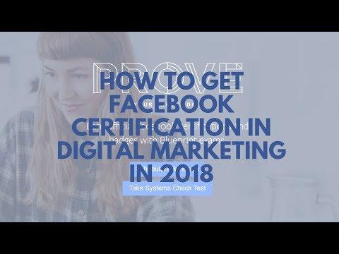 How to Get Facebook Certification in Digital Marketing | Digital Marketing
