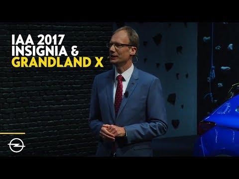 Grandland X + Insignia | Best-Of Opel Highlights von der IAA 2017