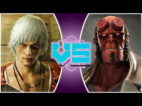 DANTE vs HELLBOY (Devil May Cry vs Hellboy)   REWIND RUMBLE thumbnail