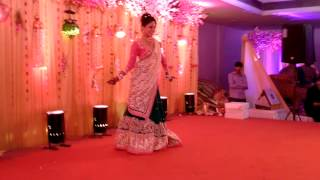 prasad budbadkar choreograph bride solo dance