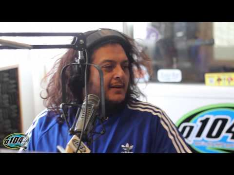 Felipe Esparza Stops By The Rico and Mambo Morning Show