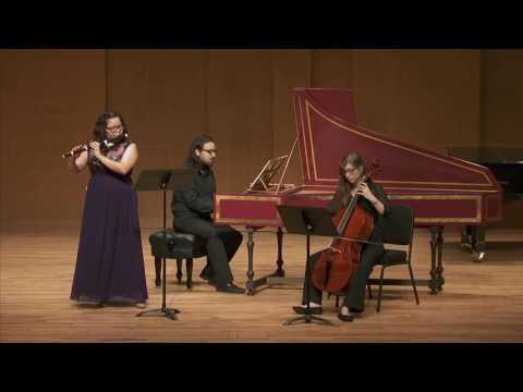 Anna Bon di Venezia: Op. 1 No.4 Flute Sonata in D Major - Allegro Moderato
